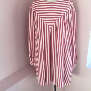 Fallon Striped Poplin Dress